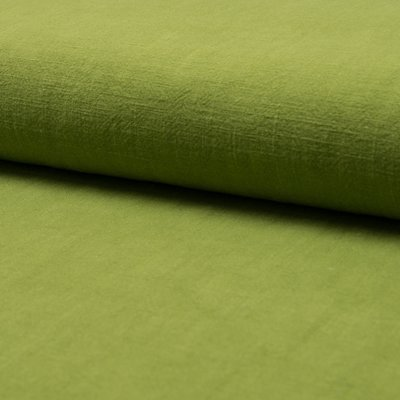 Stonewashed linen - Lime