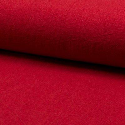 Stonewashed linen - Red
