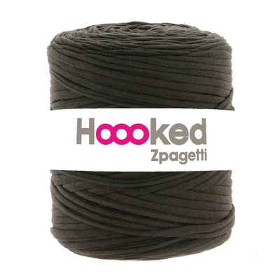 T-Shirt Yarn - Zpagetti Chocolate Brown