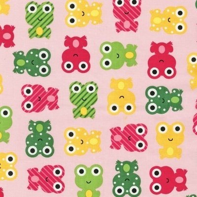 Urban Zoologie-Frogs-Pink