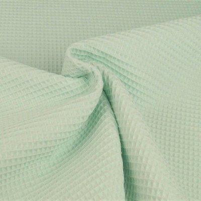Waffle Cotton Fabric Mint