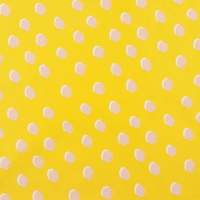 Water repellent fabric - Dots Yellow