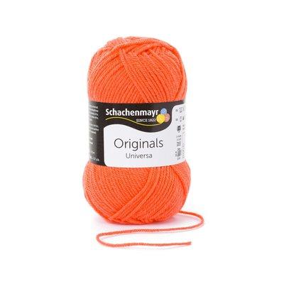 Wool blend yarn Universa - Coral 00133