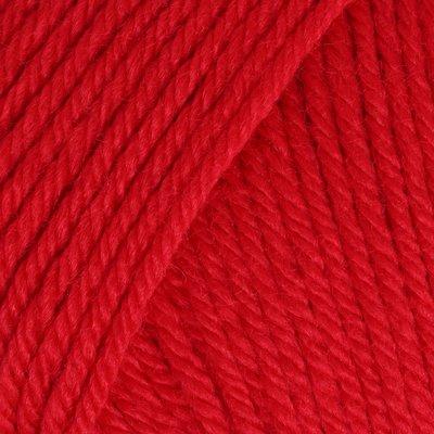 Wool blend yarn Universa - Tomato 00130