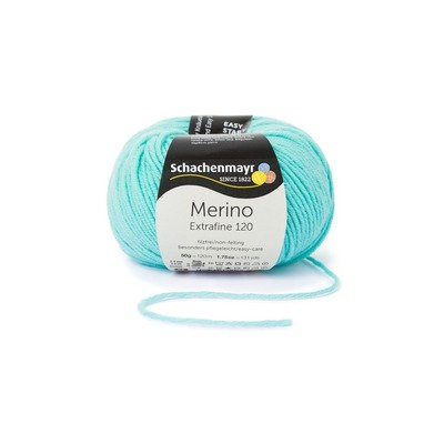 Wool Yarn - Merino Extrafine 120 Mint 00167