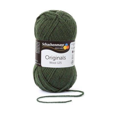 Wool Yarn - Wool125 - Olive 00171