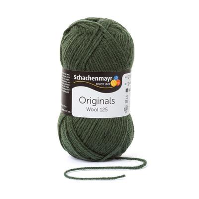 Wool Yarn - Wool125 - Olive