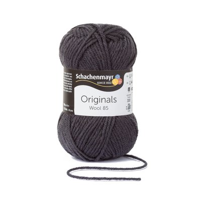 Wool Yarn Wool85 - Antracit