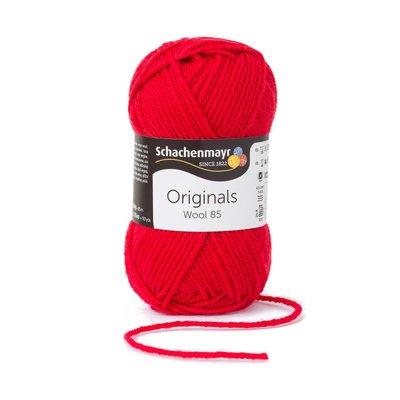 Wool Yarn Wool85 - Cherry 00231