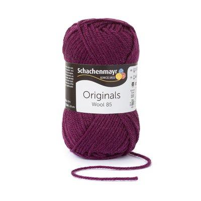 Wool Yarn Wool85 - Plum