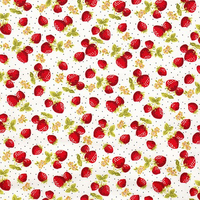 Poplin - Yummy Berries Ivory