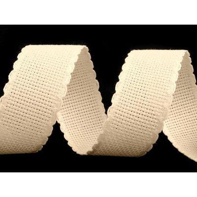 Banda pentru brodat natur - latime 3 cm