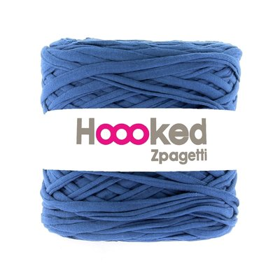 Banda textila pentru tricotat Zpagetti- Blue Moon