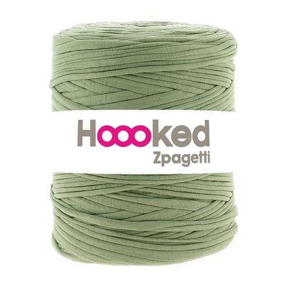 Banda textila pentru tricotat - Zpagetti Olive Delight