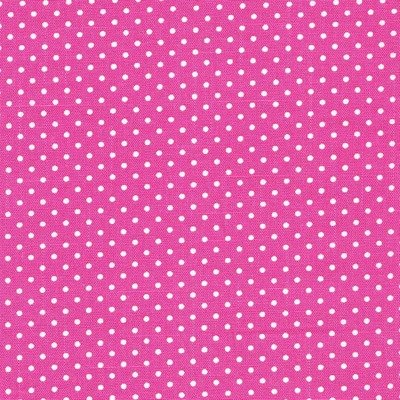 Bumbac Canvas - Cerise Dots