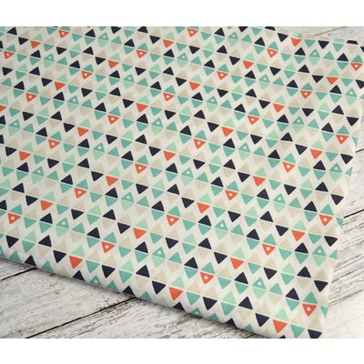Bumbac imprimat - Arly Triangles Blue