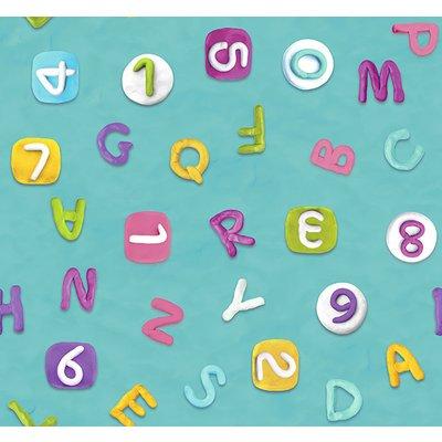 Bumbac Imprimat - Crazy Alphabet