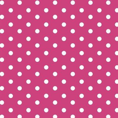 Bumbac imprimat - Dots Pink