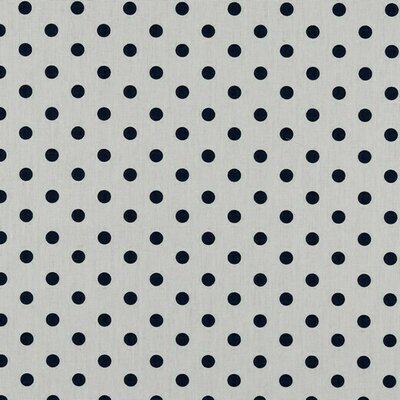 Bumbac imprimat - Dots White  Navy