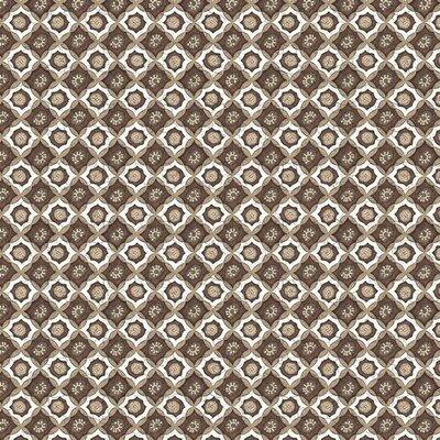 Bumbac imprimat - Javanese Style Brown