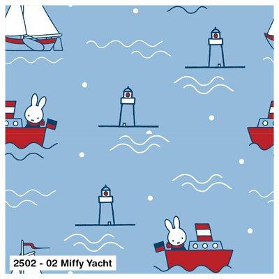 Bumbac Imprimat -  Miffy Yacht