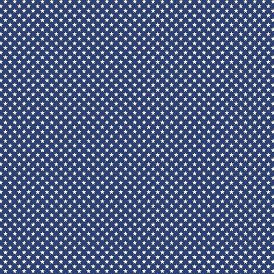 Bumbac imprimat - Mini Stars Cobalt