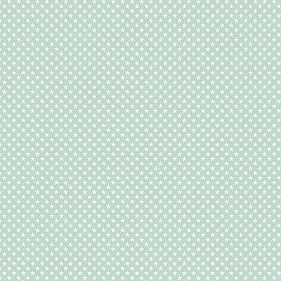 Bumbac imprimat - Mini Stars Mint