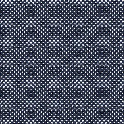 Bumbac imprimat - Mini Stars Navy