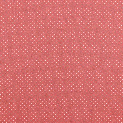 Bumbac imprimat - Petit Dots Coral
