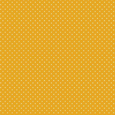 Bumbac imprimat - Petit Dots Yellow