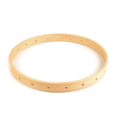Cerc din lemn pentru decoratiuni - diametru 20 cm
