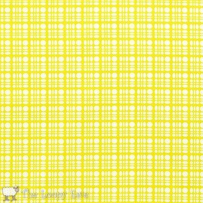 Clementine Dot Weave Lemon