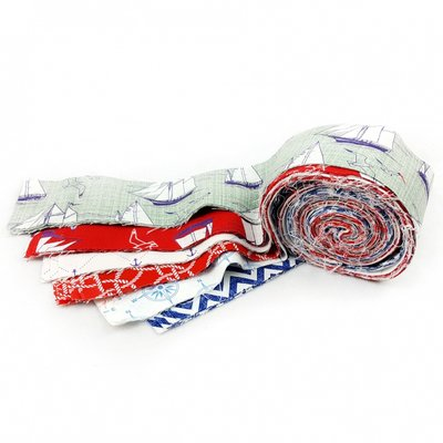 Fabric Roll - Nautical Rose