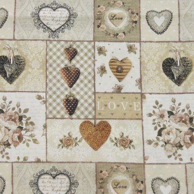 Fat Quarter - Loving - 45x45 cm