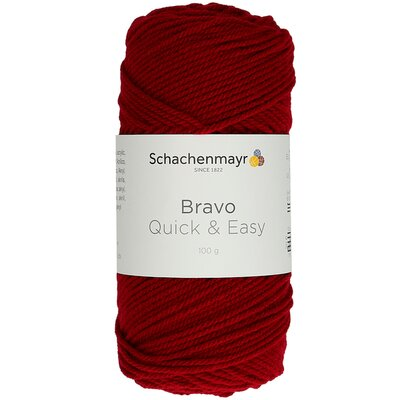 Fir acril Bravo Quick & Easy - Burgundy 08222