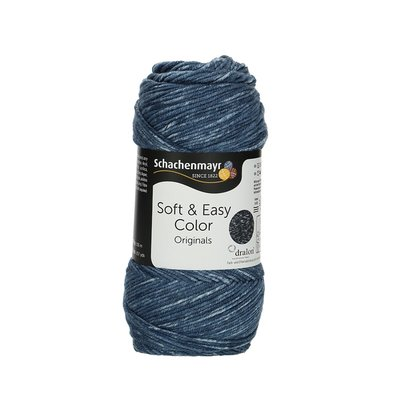 Fir acril Soft & Easy Color - Indigo - 100g