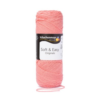 Fir acril Soft & Easy - Coral - 100g
