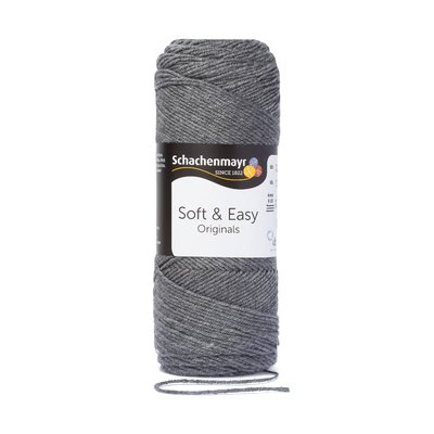 Fir acril Soft & Easy - Melange Gray 00092