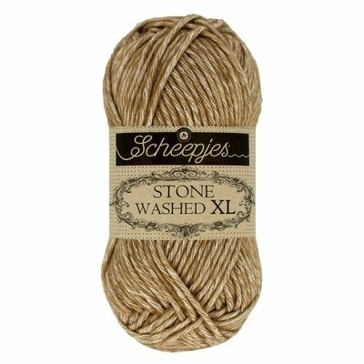 Fir bumbac melanj Stone Washed XL - Boulder Opal 844