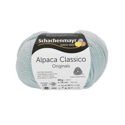 Fir de tricotat Alpaca Classico - Ice Blue