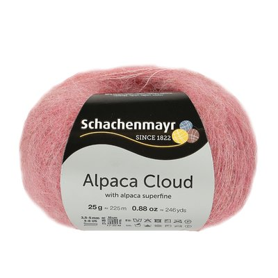 Fir de tricotat Alpaca Cloud - Blush 00034