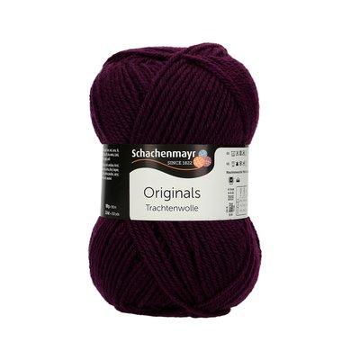 Fir de tricotat Trachtenwolle - Burgundy 00039