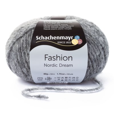 Fir din amestec de lana - Fashion Nordic Dream Grey Melange 00092