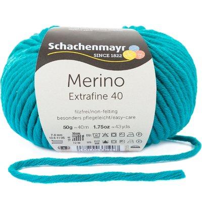 Fir lana - Merino Extrafine 40 - Smarald 00377