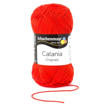 Fire bumbac Catania - Tomato Red 00390