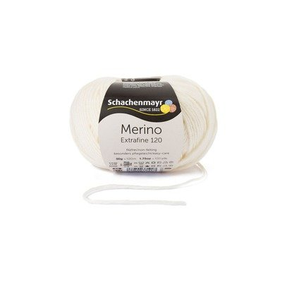 Fire lana - Merino Extrafine 120 Cream 00102