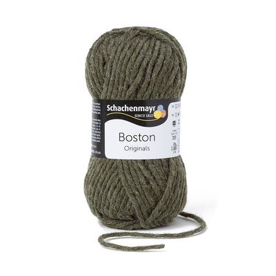 Fire lana si acril Boston-Loden Green 000175