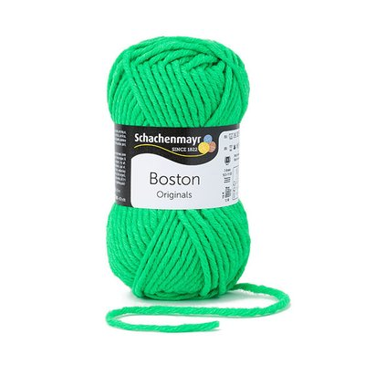 Fire lana si acril Boston- Neon Green