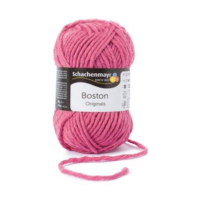 Fire lana si acril Boston-Raspberry