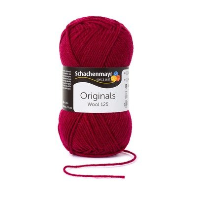 Fire Lana - Wool125 - Burgundy 00132